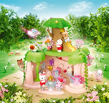 Silvania family Small fairy in a forest Hill of the fairy's jewel F-35 (japan import)