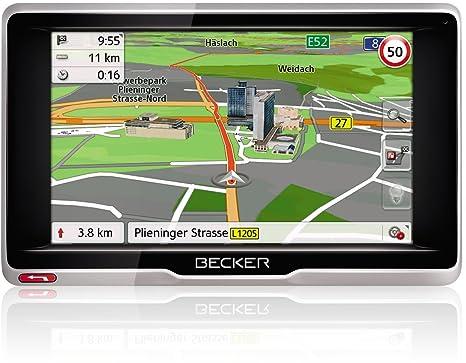 Becker 1501820000 GPS Noir, Argent