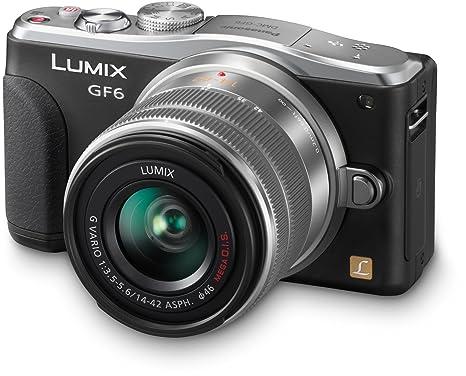Panasonic DMC-GF6K Appareil Photo Numérique Compact 16 Mpix Wi-Fi Noir