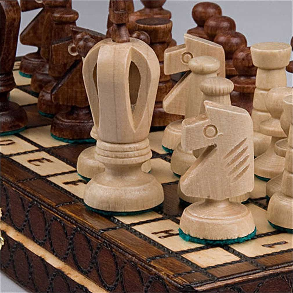 Chess Royal 30 European Wooden Handmade International Set, 11.81 x 1.97-Inch 3