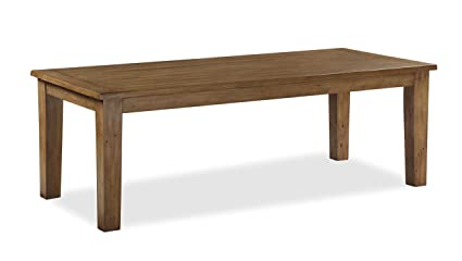 Global Home Products Collection 128 2200 Fixed Dining Table, Wood, Multi-Colour