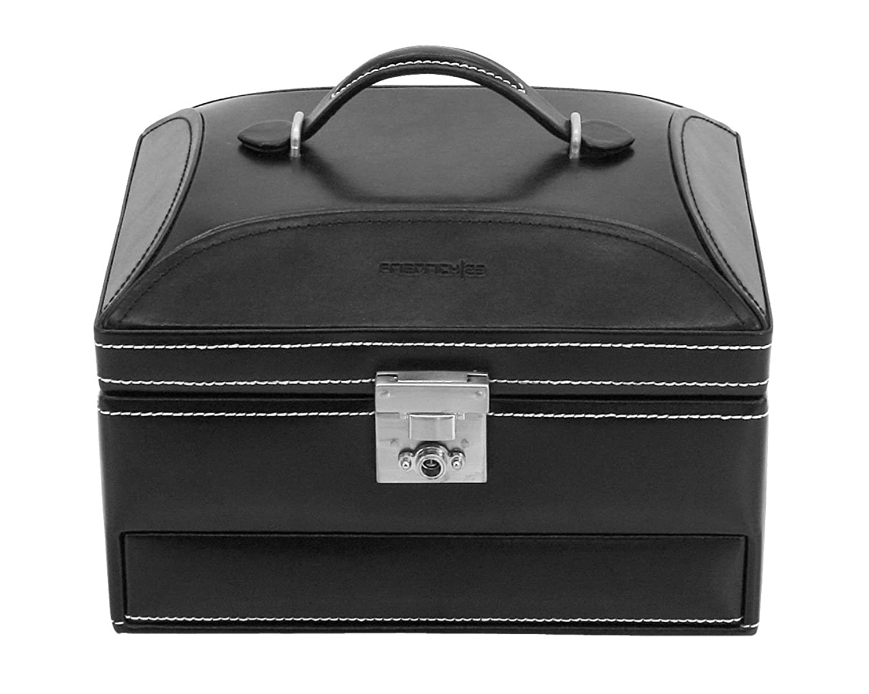 Friedrich|23 Damen-Schmuckkasten London Leder schwarz – 26104-2 bestellen
