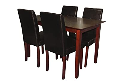 Premier Housewares Dining Table and Chair - Set of 5