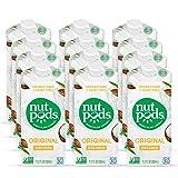nutpods Dairy-Free Creamer Unsweetened (Original, 12-pack) - Whole30 / Paleo / Keto / Vegan / Sugar Free