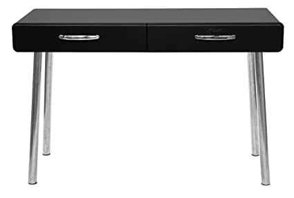 Tenzo Cobra Designer Desk, Wood, Black