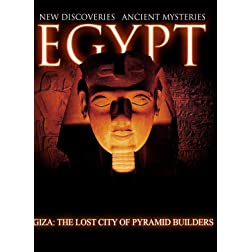 Egypt New Discoveries  Giza: The Lost City of Pyramid Builders [Blu-ray]