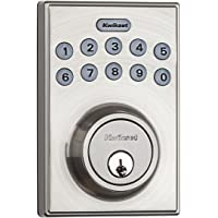 Kwikset Single Cylinder Electronic Deadbolt (Satin Nickel)