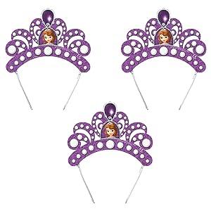 x 6 tiara de princesa sofia   Comentarios y más información