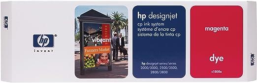 HP Designjet CP Ink System Tête d'impression d'origine avec cartouche et dispositif de nettoyage Magenta 400 Pages C1808A