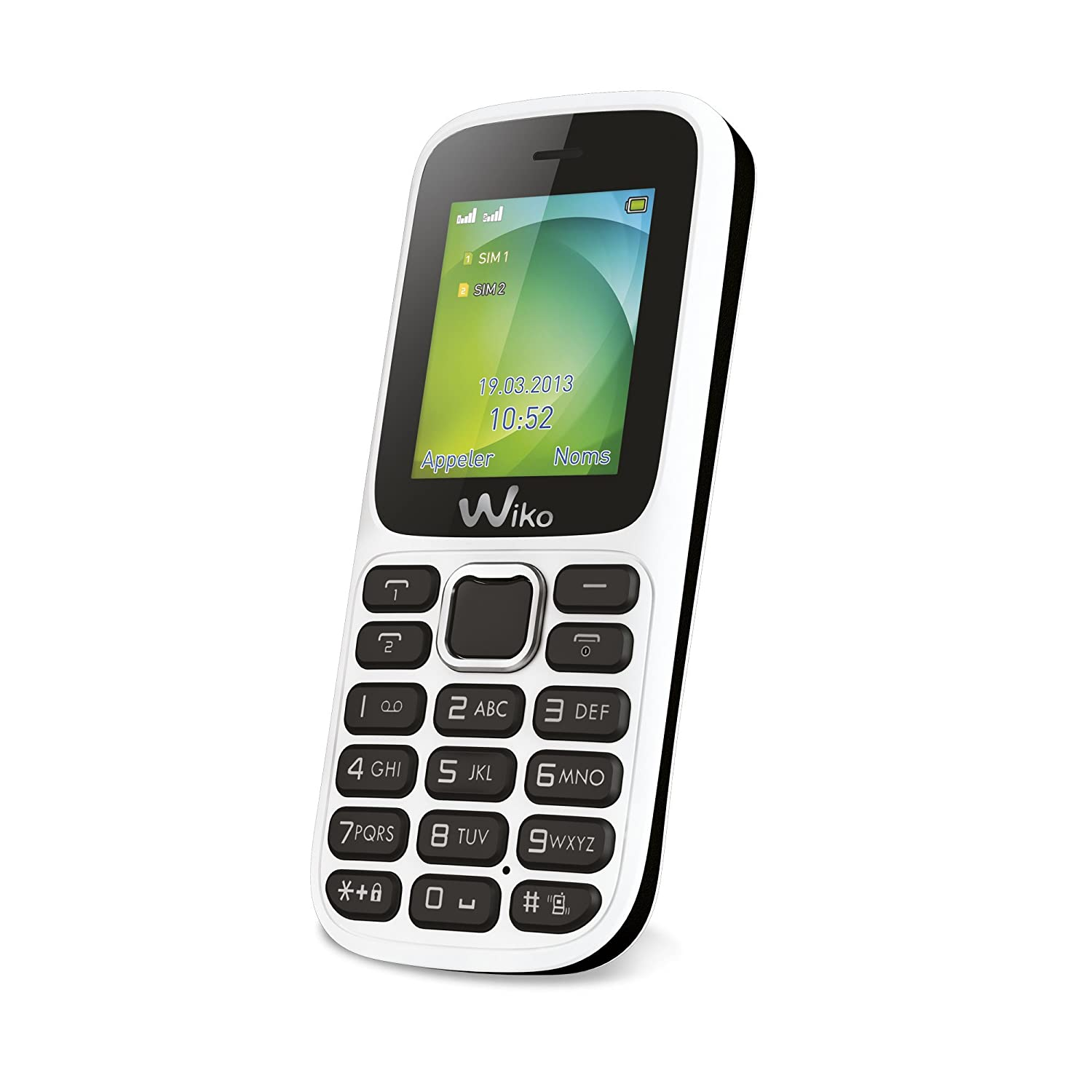 T�l�phone GSM WIKO LUBI2 BLANC