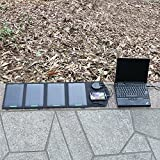 (Cyber Monday) ALLPOWERS™ 18V 14W Solar Laptop Panel Charger(5V USB with PowersIQ™ Fast Charging Technology+18V DC Output) Portable Backup Power Bank Charger for Laptop below 18V1A, Tablet, ipad, ipod, Mobile Phones, iphone, Samsung, Blackberry, GPS Units