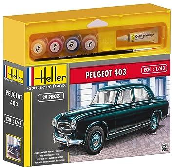 Heller - 50161 - Maquette - Voiture - Peugeot 403 - Echelle 1/43 - Kit