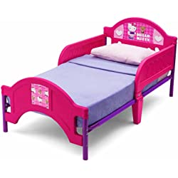 Hello Kitty Plastic Toddler Bed (Pink)