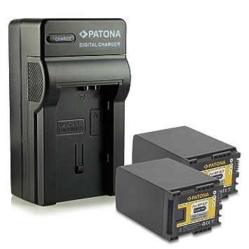 Batería de repuesto con chip para canon LEGRIA HF m36 HD HF m306 HD