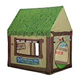 Kids Play Tent Children Playhouse - Indoor Tent Pop Up Model Clubhouse Green Portable by K-F Decorations