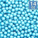 Celebrations By Sweetworks Sixlets(R) 14oz, Shimmer (TM) Powder Blue (Color: Blue, Tamaño: 14 oz)