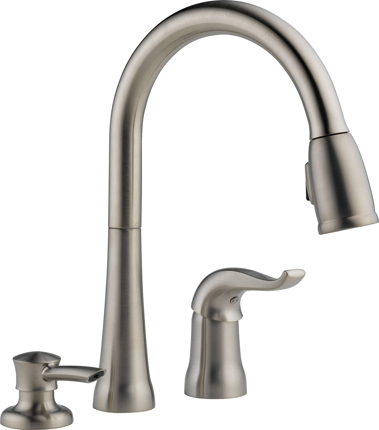 Delta 16970 best pull down kitchen faucet