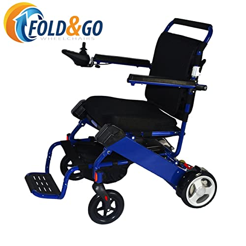 FOLD-N-GO Power Wheelchair (Royal Blue)