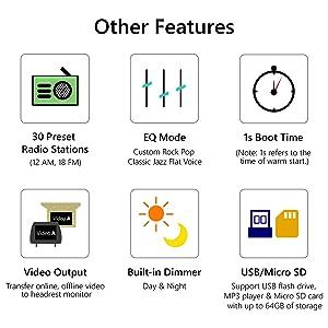 Android Radio, Car Stereo Radio, Eonon Android 8 0 Car Head