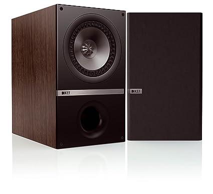 KEF Q100 WALNUT Enceinte pour MP3 & Ipod Marron