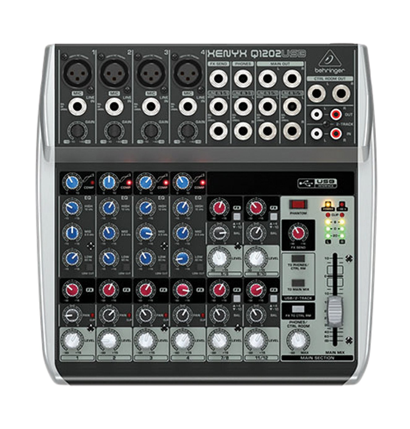 behringer q1202usb xenyx usb audio interface 12 input mixer from japan new f s. Black Bedroom Furniture Sets. Home Design Ideas