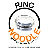 Ring Guard by RING NOODLE - 12 pack (MEDIUM) - Easy Ring Adjuster