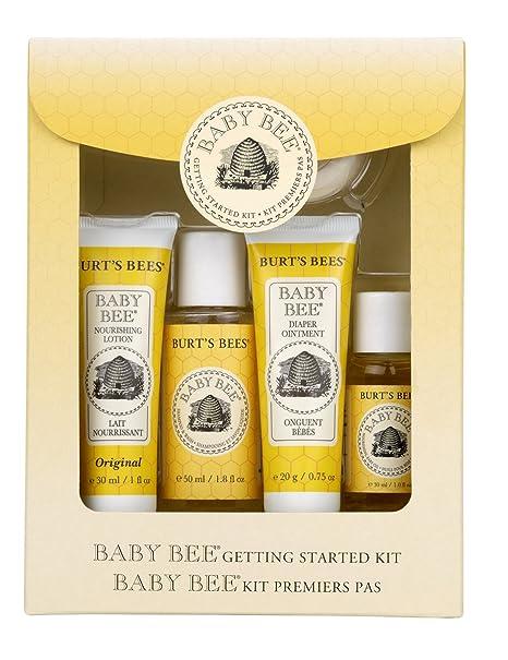 小蜜蜂 Burt's Bees 宝宝洗护五件套