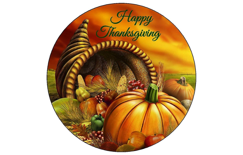 Edible Cake Images Thanksgiving : Thanksgiving Edible Images Cupcake Toppers Thanksgiving ...
