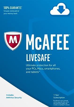 McAfee 2017 LiveSafe [Online Code]