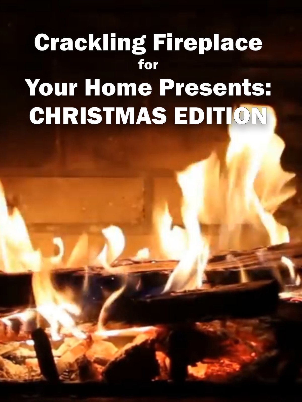 Crackling Fireplace for Your Home Presents: Christmas Edition