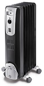 DeLonghi KH 770715 Black Radiator mit 7 Heizrippen schwarz  BaumarktKritiken und weitere Informationen