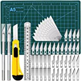 Precision Exacto Knife Upgrade Cutting Mat Carving Craft Knife Hobby Knife Exacto Knife Kit (Tamaño: Exacto knife kit)