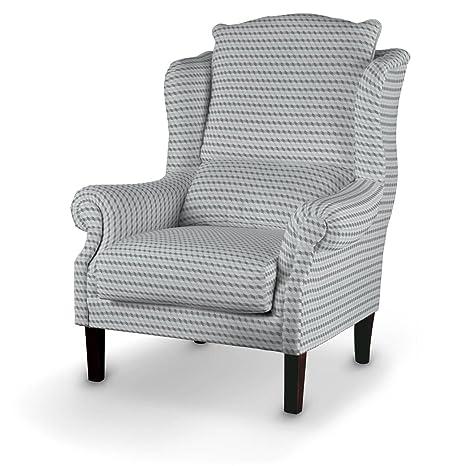 Dekoria Sessel 63 x 115 cm grau