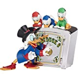 Precious Moments Disney Duck Tales Bank - Scrooge McDuck Huey Dewey And Louie (Color: Multi-colored)