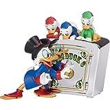 Precious Moments Disney Duck Tales Bank - Scrooge McDuck Huey Dewey And Louie (Color: Multi-colored)