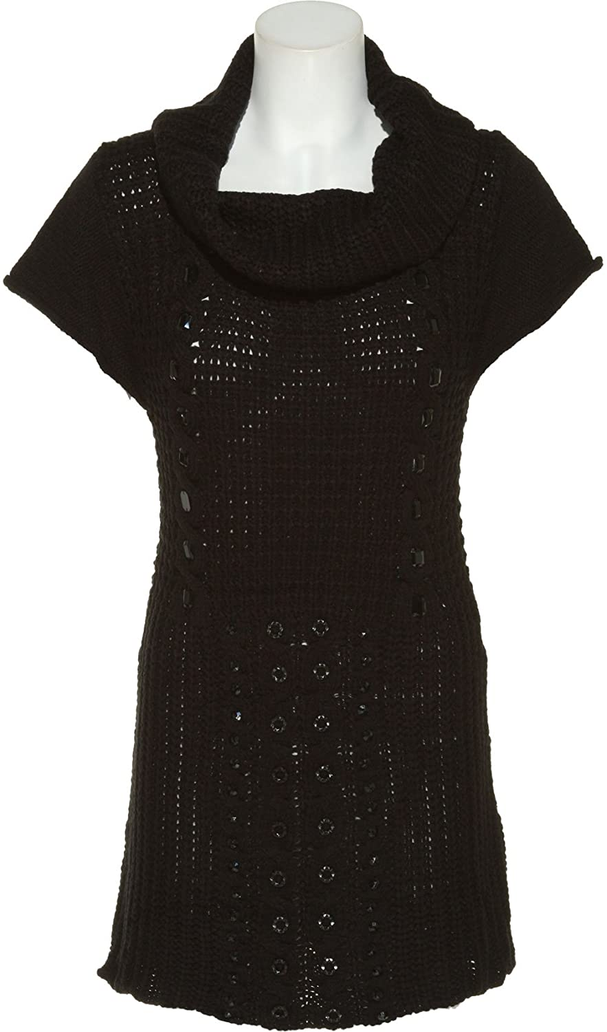 ROMEO & JULIET COUTURE Beaded Sweater Dress [RJSCSW1148]