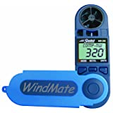 WindMate WeatherHawk WM-200 Hand-Held Wind Meter, Blue
