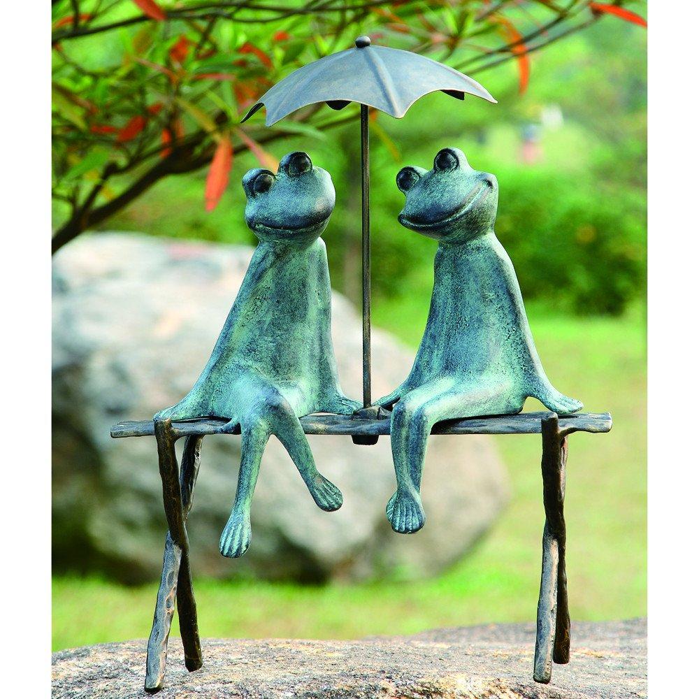 SPI Home 33317 Frog Lovers Garden Sculpture