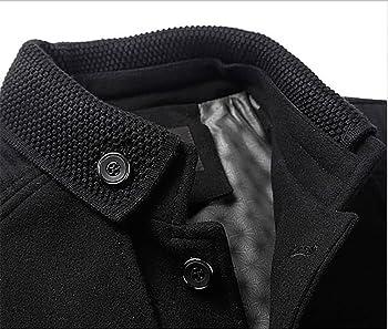 CEEN メンズラシャーコート 厚手 高品質 秋冬 防寒ジャケット 大きいサイズ スタンドカラーコート メンズ アウター 保温 2スタイルジャケット
