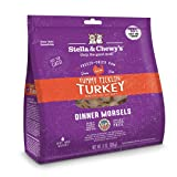 Stella & Chewy's Freeze-Dried Raw Tummy Ticklin' Turkey Dinner Morsels Grain-Free Cat Food, 8 oz bag (Tamaño: 8 Ounce)