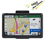 7 inch Navigation System for Cars, Car GPS Spoken Turn- to-Turn 8GB Vehicle GPS Navigator, Lifetime Map Updates (Color: GPS Model 6)