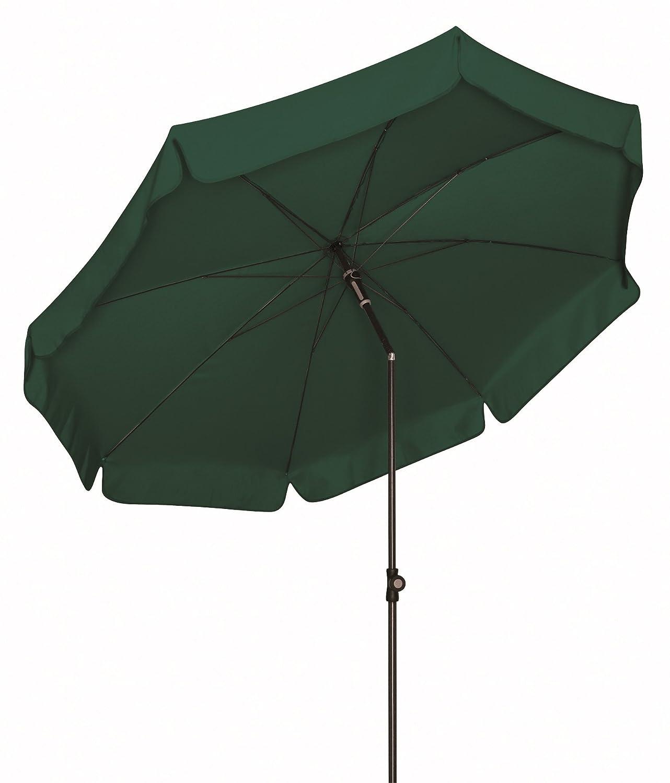 Absolut wetterfester Gartenschirm Sun Line III 150 von Doppler mit UV-Schutz 50 Plus, Farbe dunkelgrün