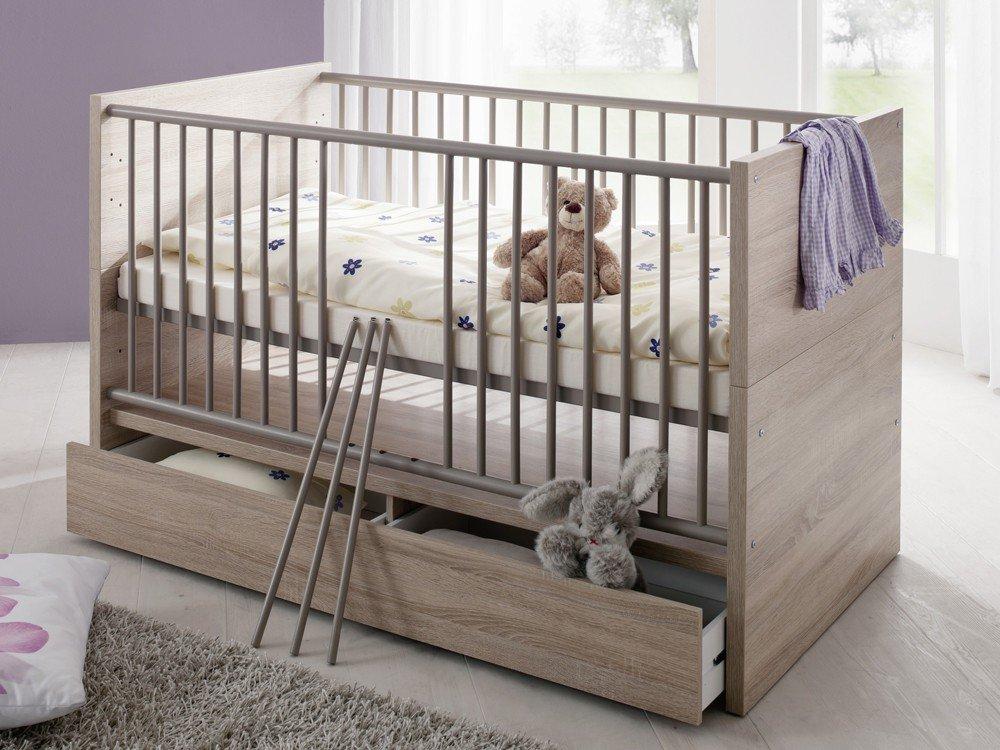 Kinderbett Babyzimmer Olek Dekor eiche sägerau