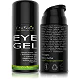 Best Eye Gel for Wrinkles, Fine Lines, Dark Circles, Puffiness, Bags, 75% ORGANIC Ingredients, With Hyaluronic Acid, Jojoba Oil, MSM, Peptides and More, Refreshing Eye Cream Combination (Tamaño: 15 ML)