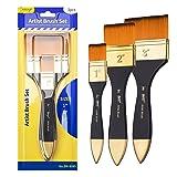 Bianyo Artist Flat Paint Brush-1