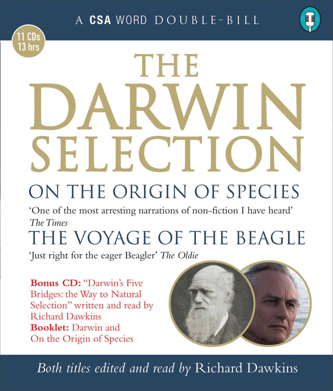 The Darwin Selection - On the Origin of Species and The Voyage of the Beagle - Charles Darwin