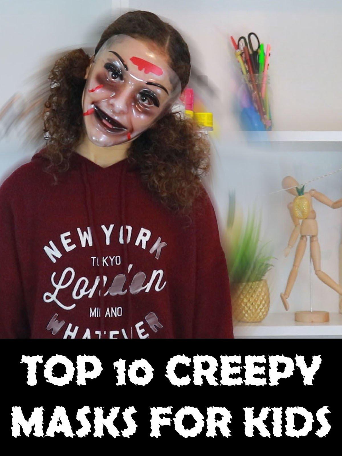 Top 10 Creepy Masks For Kids