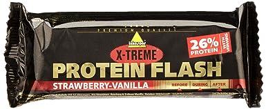 Inko X-Treme Protein Flash Erdbeere-Vanille, 30 x 65 g Riegel