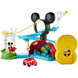 Fisher-Price Disney Junior Mickey Mouse Clubhouse Zip, Slide and Zoom Clubhouse Playset (Color: Original Version)