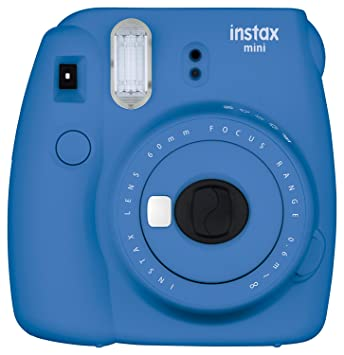 Fujifilm Instax Mini 9 Instant Camera - Cobalt Blue at amazon